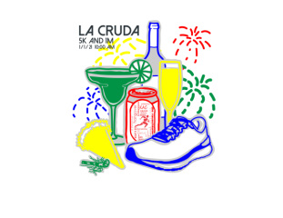 La Cruda 5K registration logo