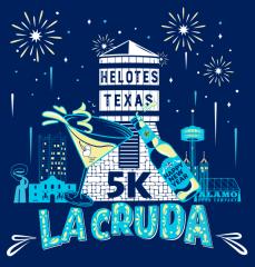 La Cruda 5K registration logo