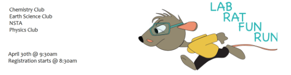Lab Rat Fun Run registration logo