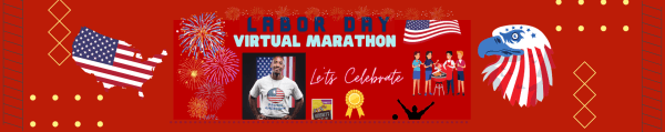 Labor's Day Virtual Run registration logo