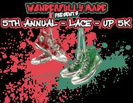 Lace-Up 5k registration logo
