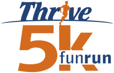 Lacey Days THRIVE 5K registration logo