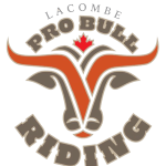 Lacombe Pro Bull Riding registration logo