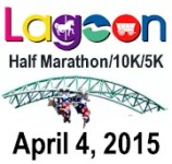 Lagoon Half Marathon, 10K & 5K registration logo