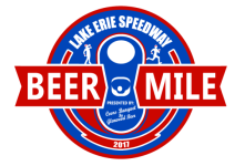 Lake Erie Speedway Beer Mile presented by Coors Banquet by Glenwood Beer registration logo