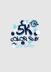 Lakeside Soccer Color Run 5K registration logo