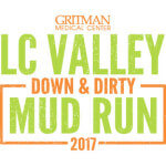 LC Valley Down and Dirty Mud Run registration logo