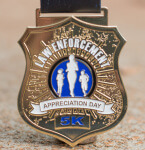 L.E.A.D. - Law Enforcement Appreciation Day 5K registration logo