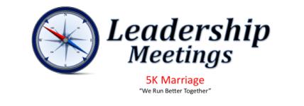Leadership & Marriage 5K registration logo