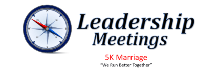 Leadership & Marriage 5K registration logo