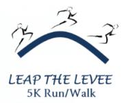 Leap the Levee registration logo