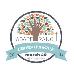Leave a Legacy 1K, 5K & 10K Virtual Run/Walk registration logo