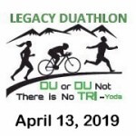 Legacy Duathlon registration logo
