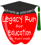 Legacy Run for Education registration logo