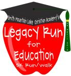 Legacy Run for Education registration logo