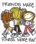 Support Women in Fitness 5k registration logo