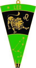 Leo - Zodiac Series 1M 5K 10K 13.1 26.2 50K 50M 100K 100M registration logo
