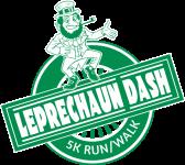 Leprechaun Dash Exchange Club registration logo