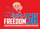 Let Freedom Run 5k Run and Walk  registration logo