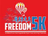 Let Freedom Run 5k Run and Walk  registration logo