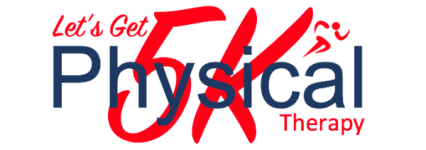 Lets Get Physical 5K Walk/Run registration logo