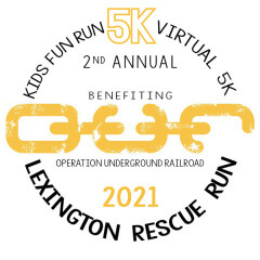 Lexington Rescue Run registration logo