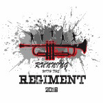 LHS Band- Running with the Regiment registration logo