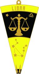 LIBRA - Zodiac Series 1M 5K 10K 13.1 26.2 50K 50M 100K 100M registration logo