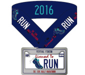 Licensed to Run Virtual Race registration logo