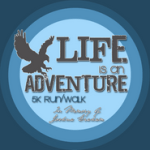 Life is an Adventure 5K registration logo