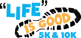 LIFE is Good 5K & 10K registration logo