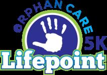 Lifepoint Orphan Care 5K registration logo