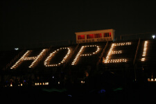 Light the Way, A Walk for Hope registration logo