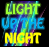 Light Up the Night 5k  registration logo