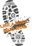 Like A Boss Mud Run registration logo