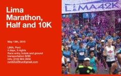 Lima Marathon registration logo
