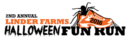 Linder Farms Halloween Fun Run registration logo