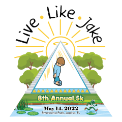 Live Like Jake 5K Run/Walk registration logo