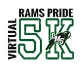 LMS Rams Pride Virtual 5K registration logo
