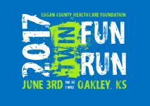 Logan County Healthcare Foundation Twin Fun Run registration logo
