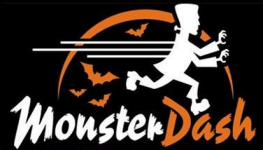 Logan-Hocking Monster Dash 5K registration logo