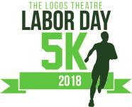 Logos Theatre Labor Day 5K registration logo
