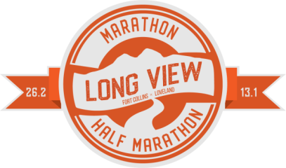 Long View Marathon & Half registration logo