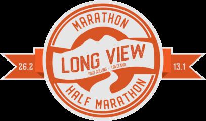 Long View Marathon & Half registration logo