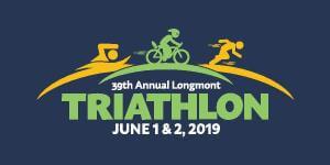 Longmont Triathlon registration logo
