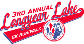 Longyear Lake 5k registration logo