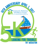 Looking For Trouble 5K and Kids Fun Run registration logo