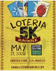 Loteria 5k registration logo