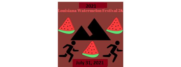 Louisiana Watermelon Run registration logo