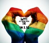 Love In Color Run registration logo